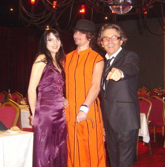19.02.2011 Avec les artistes du  ballet DELICEO