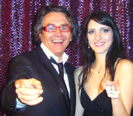 19.02.2011 Avec Magalie chanteuse du ballet DELICEO