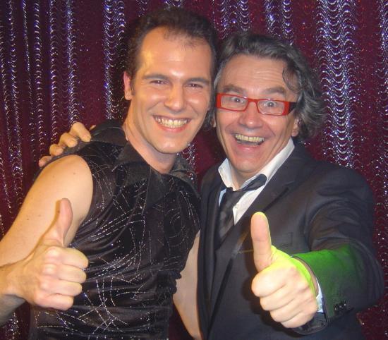 19.02.2011 Avec Pierre Parhad , jongleur époustouflant!