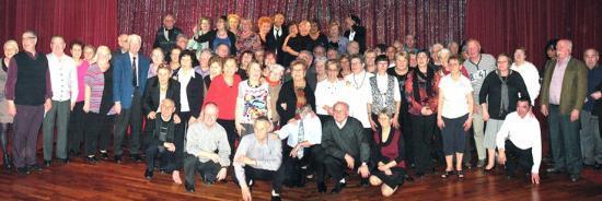 3 Mars 2011 avec les Givordins , un groupe vraiment sympathique et chaleureux !