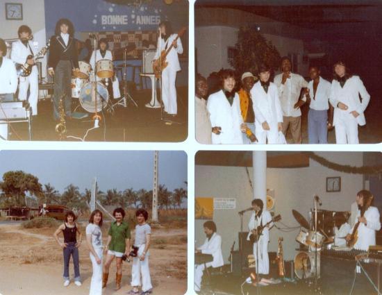 1977 TOURNEE AU TOGO ET EN COTE D'IVOIRE ....absolument unique!