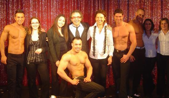 Les membres du Casino avec les  BODY EXCITING.