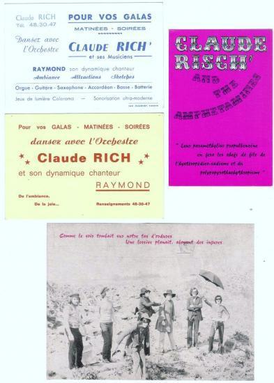 Cartes / Pub CLAUDE RISCH