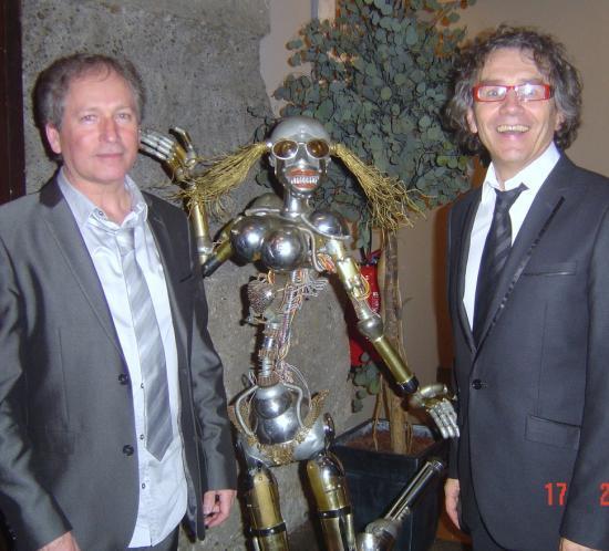 Avec Guy et une danseuse !... le 17 .02.2011