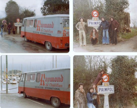 1976 tournée en Bretagne....