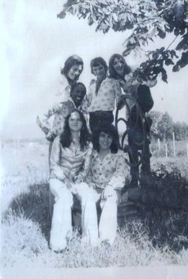 1974 Raymond et sa formation
