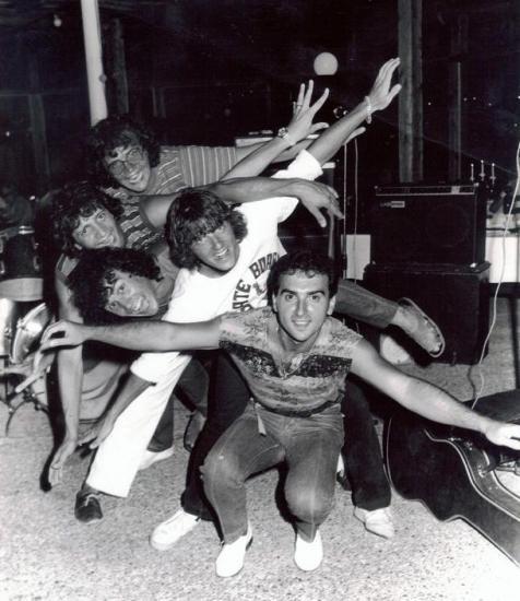 1980 St AYGULF création d'une terrasse/concert culte! MERCI JACKY DUBESSY! tjs d'acualité grâce à Gilles Labourey