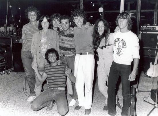 1980  Motel de St AYGULF....avec des ami(e)s venus faire le