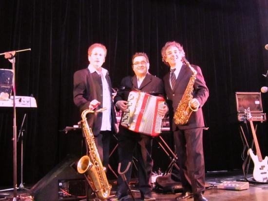 Avec Alain et Guy  un super moment d'amitié le 13.03.2011