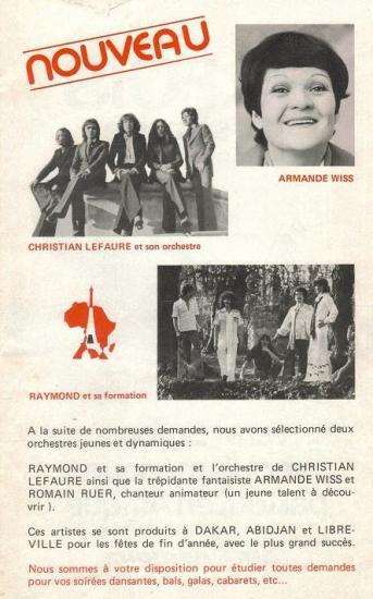 1978  PUBLICITE DES GALAS KARSENTY-HERBERT
